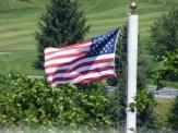 Am Flag at Massanutten, VA